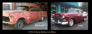Classic Car Restoration Service
